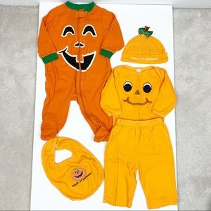 Halloween clothing lot (3-6 months)